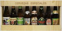 Pack with 8 belgian beers (long format)