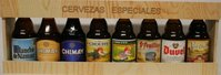 Pack with 8 belgian beers (short bottle)