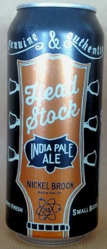Nickel Brook Headstock IPA Can
