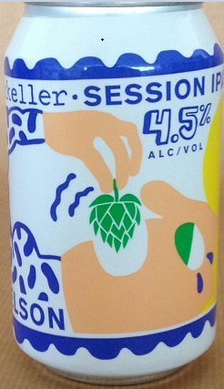Mikkeller Nelson Sauvin Single Hop Session IPA lata
