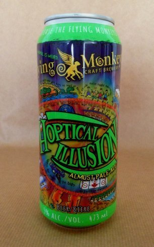 flying monkeys Hoptical Illusion Pale Ale Lata