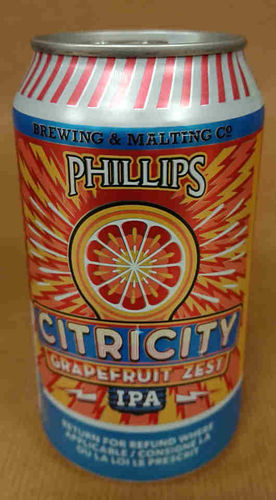 Phillips brewing Citricity Lata