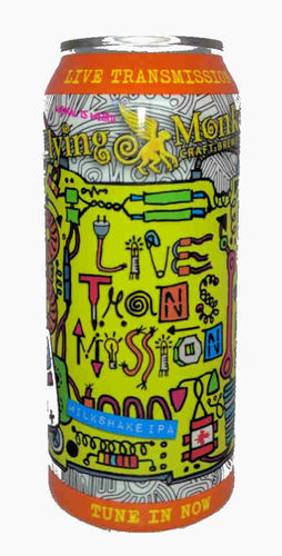 Flying Monkeys Live Transmision Milkshake IPA