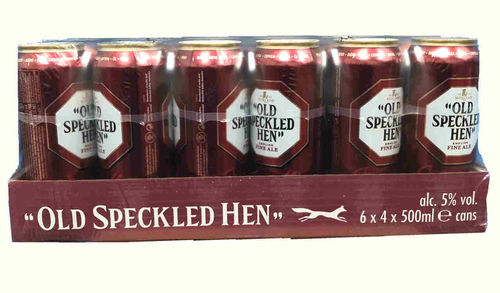 Old Speckled Hen Fine Ale Lata