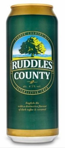Ruddles Country Ale lata
