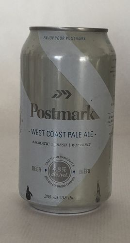 Postmark Brewery West Coast Pale Ale Can