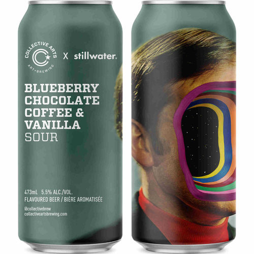 Collective arts Blueberry Chocolate Coffe & Vanilla Sour